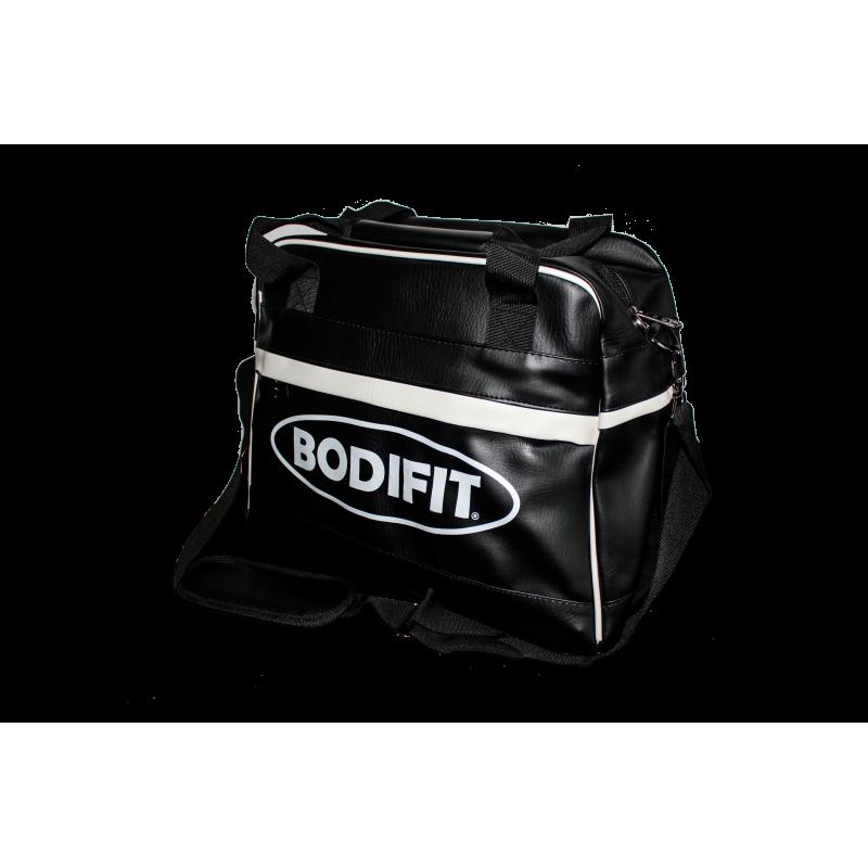 BODIFIT retro fitnes torba Deluxe črna