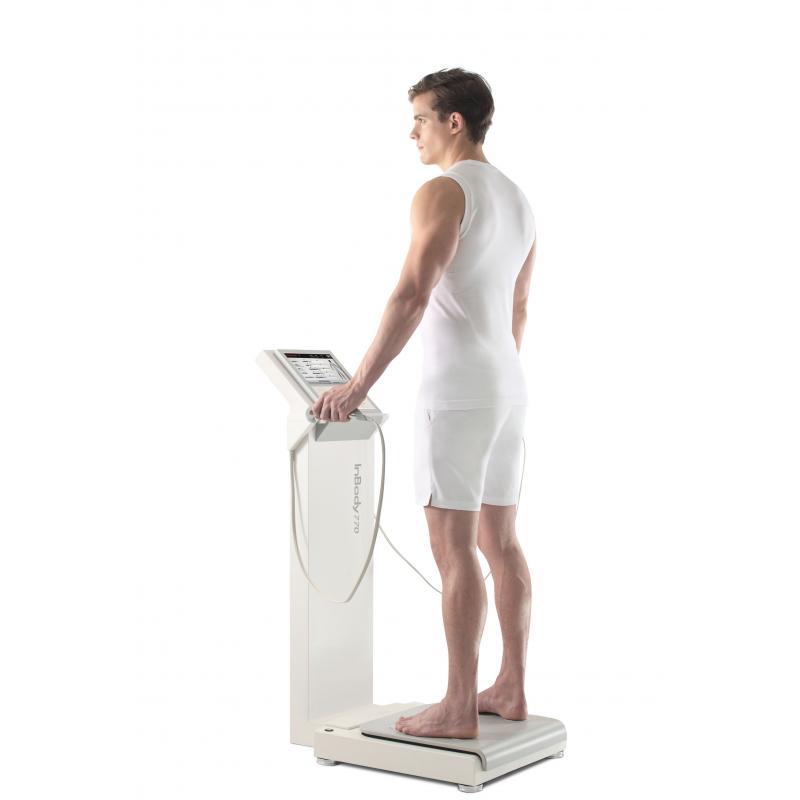 Diagnostično testiranje telesne sestave z napravo InBody