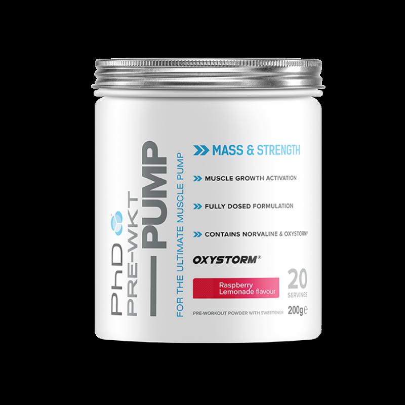 PHD Pre-Workout PUMP 200g - prehransko dopolnilo