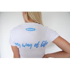 BODIFIT ženska majica - Bela