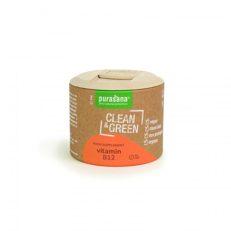PURASANA Clean&GREEN VITAMIN B12 VEGANSKE STISNJENKE