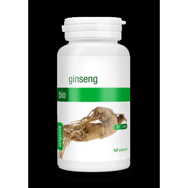 Purasana Ginseng v kapsulah 80 kapsul - prehransko dopolnilo
