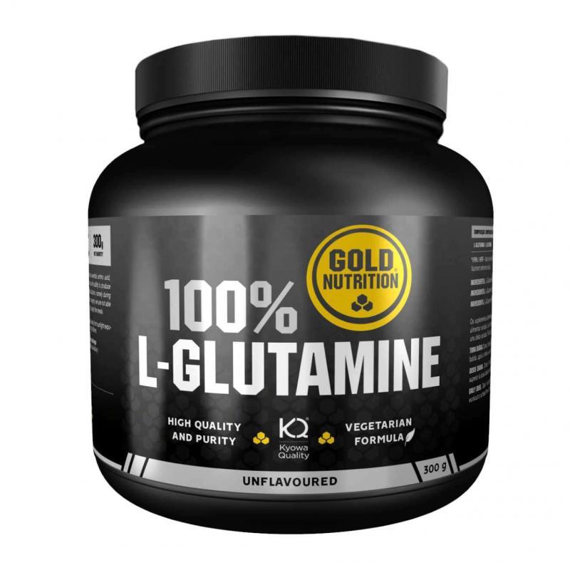 Gold Nutrition® L-GLUTAMIN v prahu, 300g, prehransko dopolnilo