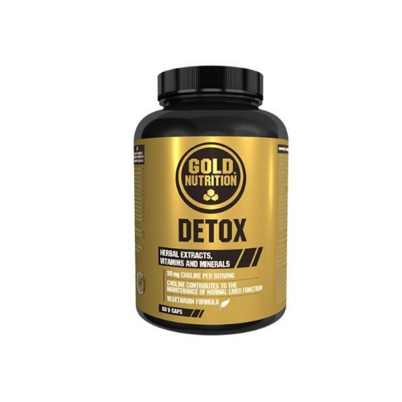 Gold Nutrition® DETOX, 60 rastlinskih tablet, prehransko dopolnilo