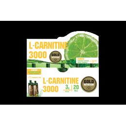Gold Nutrition® L-CARNITINE, 20 ampul, prehransko dopolnilo