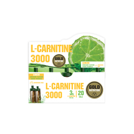 Gold Nutrition® L-CARNITINE, prehransko dopolnilo