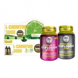 Gold Nutrition® FAT LOSS MEN + WOMEN, prehransko dopolnilo