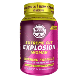 Gold Nutrition® EXTREME CUT EXPLOSION WOMAN, 90 kapsul, prehransko dopolnilo