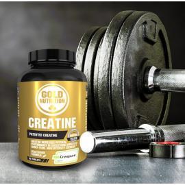 Gold Nutrition® CREATINE CREAPURE 1000mg, 60 tablet, prehransko dopolnilo