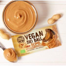 Gold Nutrition® VEGAN BIO BALL ENERGY 30g, energijski prigrizek