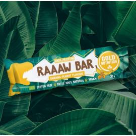 Gold Nutrition® RAAAW BAR 35g, beljakovinska čokoladica