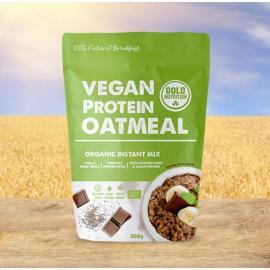 Gold Nutrition® VEGAN PROTEIN OATMEAL, 300 g, prehransko dopolnilo