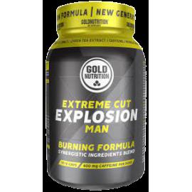 Gold Nutrition® EXTREME CUT EXPLOSION MAN, 90 kapsul, prehransko dopolnilo