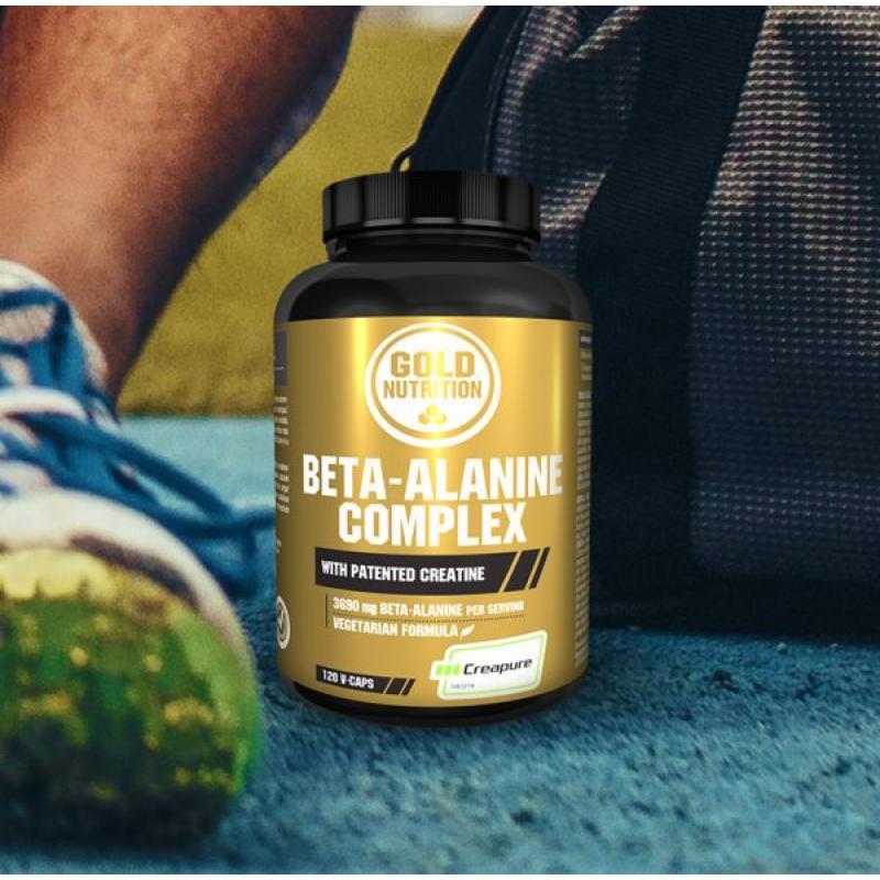 Gold Nutrition® BETA ALANIN Complex, 120 kapsul, prehransko dopolnilo