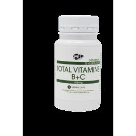 NaturalDiet VITAMIN B+C 30 kapsul - prehransko dopolnilo