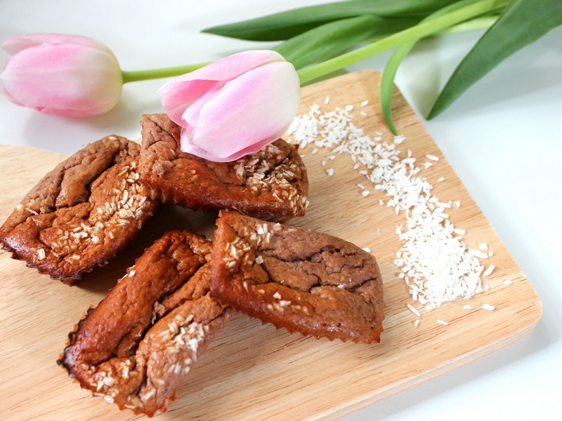 Slastne bananine proteinsko - čokoladne tortice za dan žena