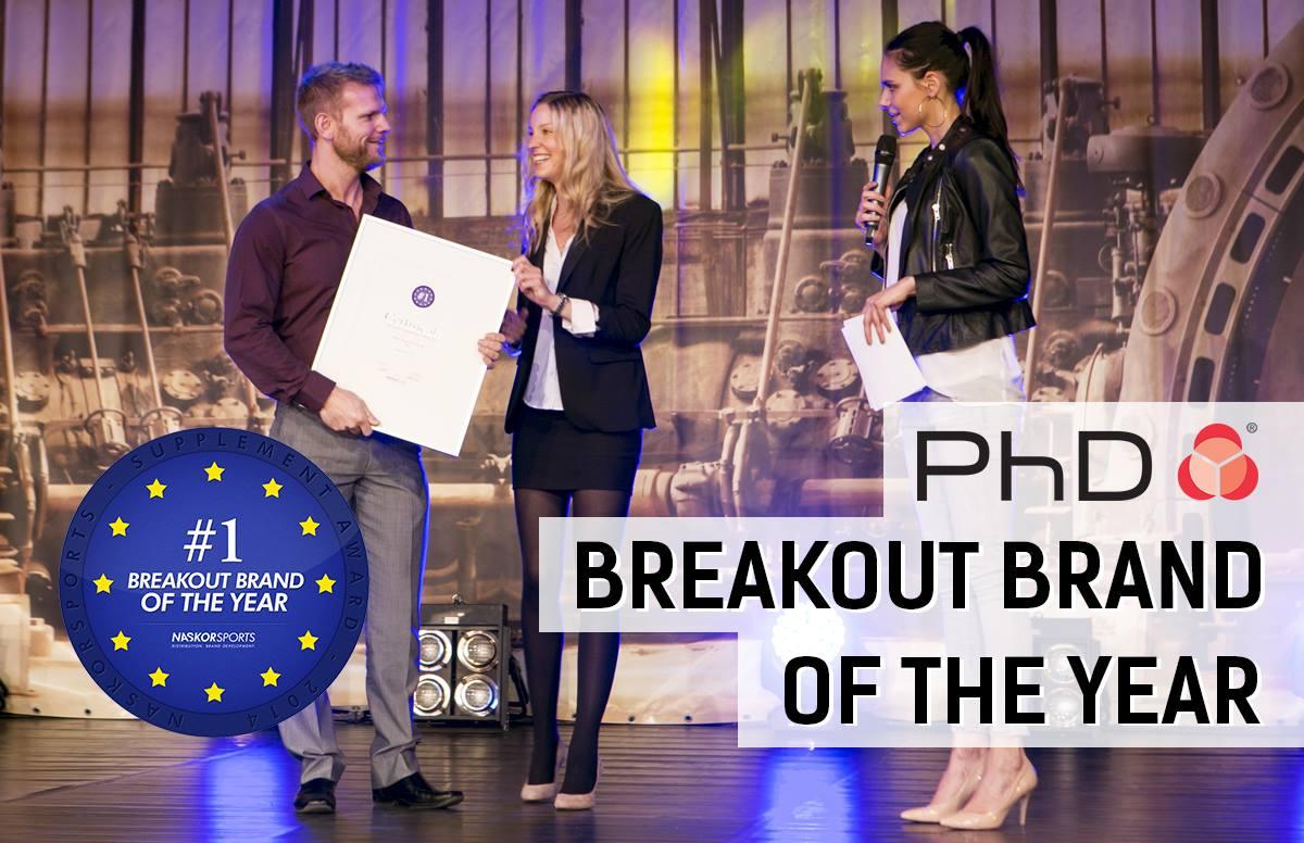 PhD z nagrado za najbolj prodorno znamko leta