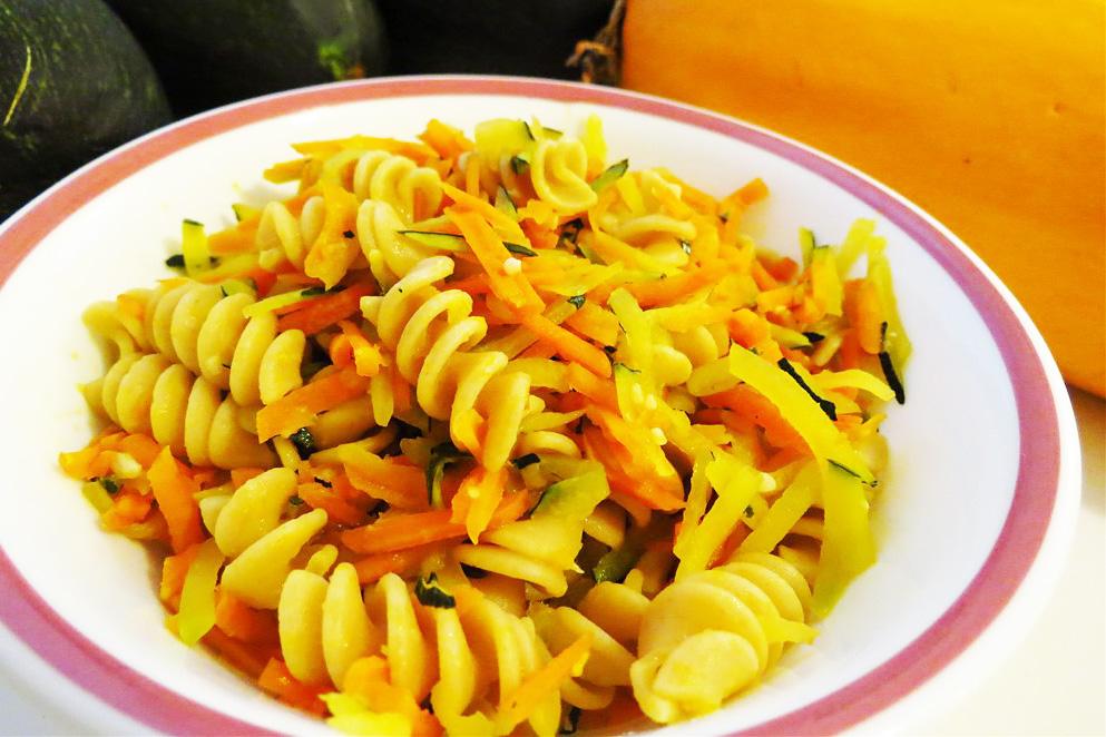 Okusno, zelenjavno: Testenine s korenjem