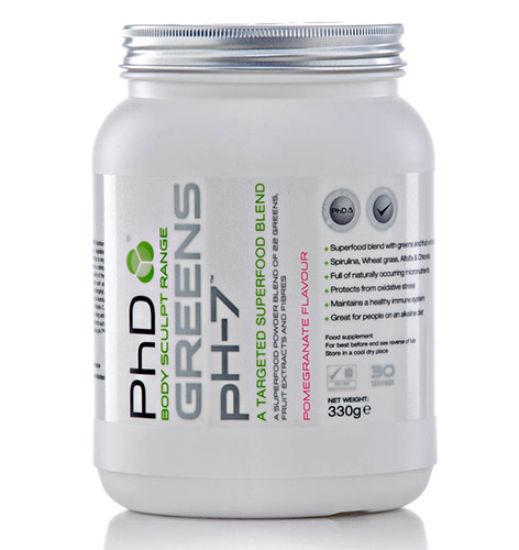 GREENS ph-7™ – prvo PHD »superdopolnilo«