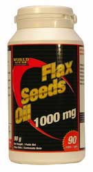 Akcija: Laneno olje - World Gym Flax Seeds Oil